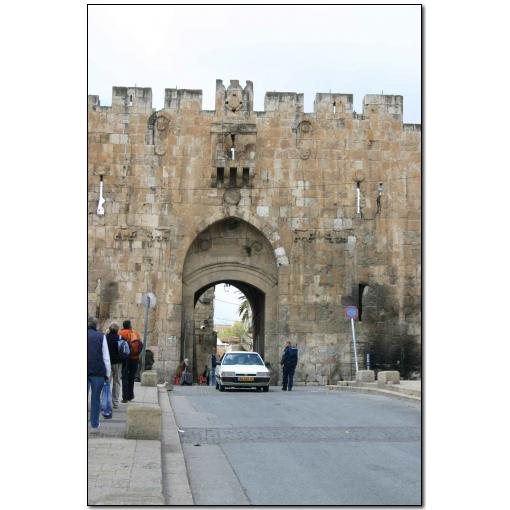 Photo: photo25 Lion Gate - One Entrance to the Old City