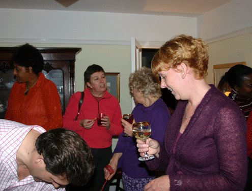 Newcomers party at the Vicarage