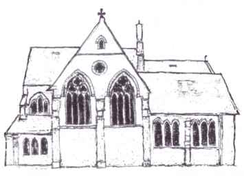 Sketch of church